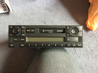 VW cassette radio