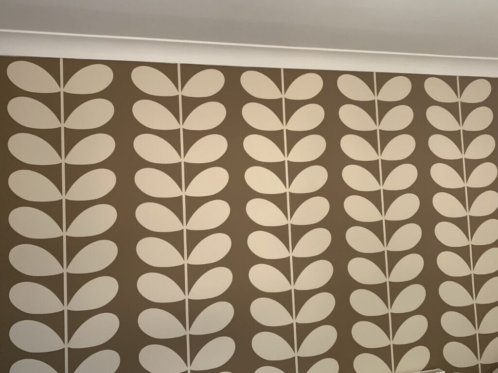 ... Orla Kiely Giant Stem Wallpaper by Harlequin x 2 rolls in Waltham