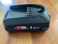 Genuine Bosch PBA 18V 1.5Ah DIY garden tools Power for ALL Battery W-B Green