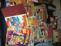 vintage beano and dandy comics 1997-2004,30 + comics ,2 annuals 1992- 2005