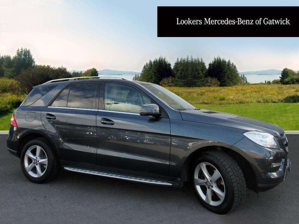 Mercedes-Benz M Class ML250 BLUETEC SE (grey) 2014-07-31