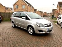 2012 VAUXHALL ZAFIRA 1.6 EXCITE, FULL SERVICE HISTORY, MOT 12 MONTHS, 1 KEEPER, HPI CLEAR