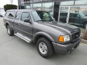 2005 Ford Ranger AUTO 4X2 WITH COLOUR-MATCHED CAP