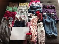 Huge bandle of baby girl clothes – 12-18 months (MORE THAN 80 ITEMS) -VERY GOOD CONDITION!!