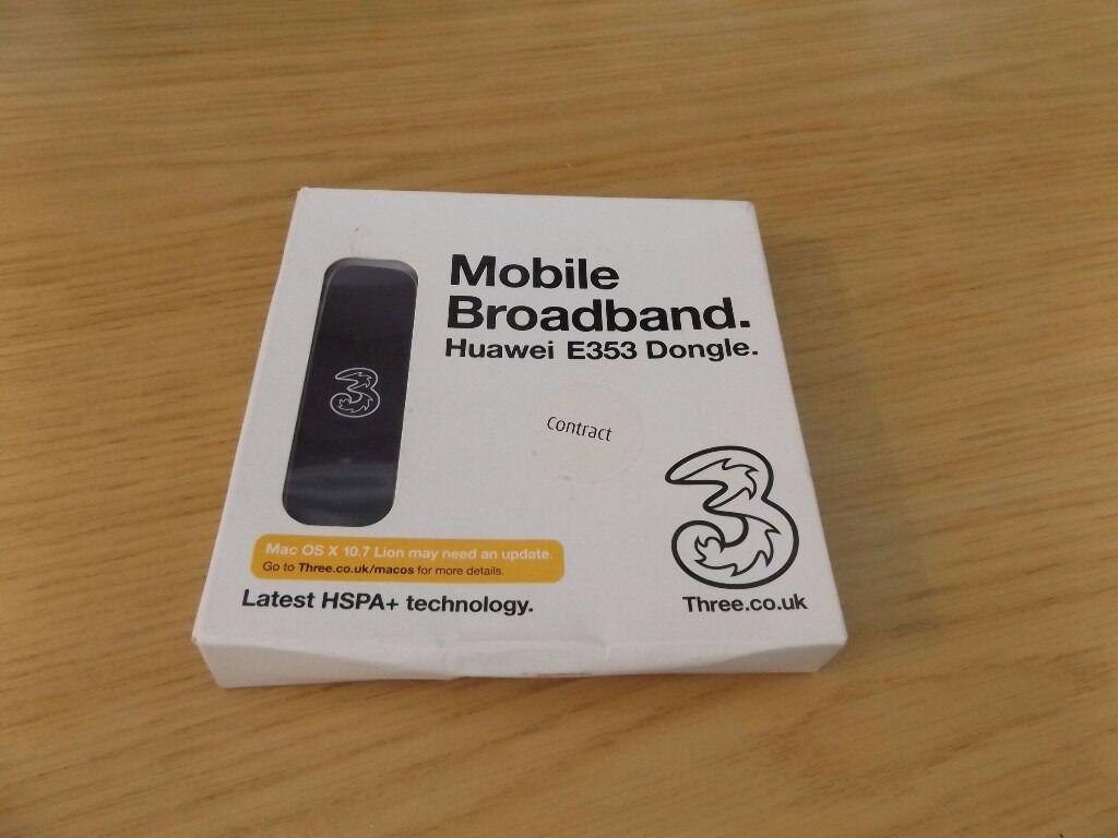 Huawei E353 3G+HSPA+ Mobile Broadband Dongle Used Working