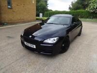 BMW 6 Series 640d M Sport (black) 2012