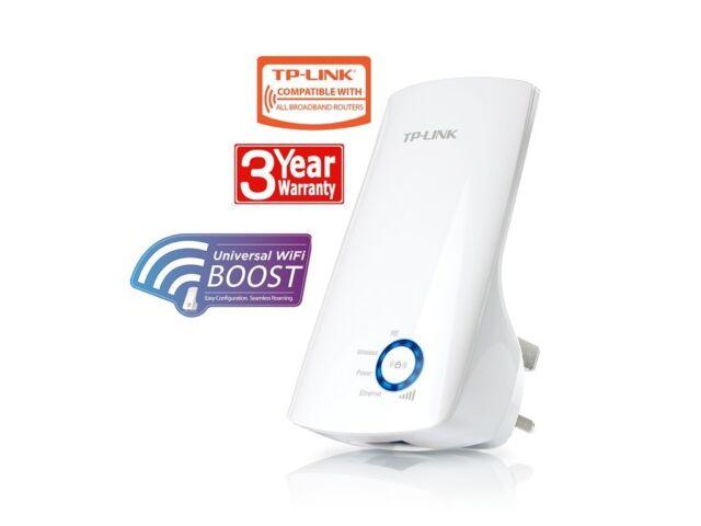 TP-Link Broadband WIFI Plug-In Wireless Range Booster Extender Home Internet Web