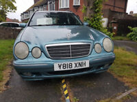 Mercedes 320 diesel 7 seater. MOT october. Great runner very economical & reliable