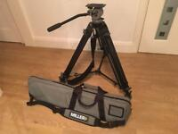 Miller DS10 Head and Tripod + Bag