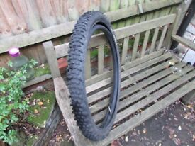 Bicycle Tyre. 'Duro Halo Knobbler' 26 x 2.2 £3.