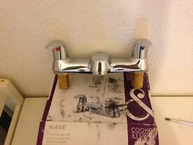 Cook and Lewis bath taps