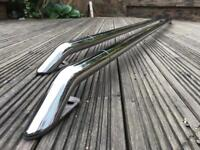 VW T5 SWB Roof Rails - Polished Stainless Steel