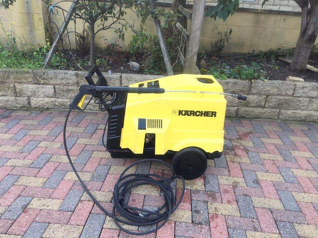 KARCHER HDS 550C HOT & COLD PRESSURE WASHER STEAM CLEANER CAR JET POWER WASHER 240V