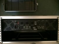 Pa amp and pair of speakers