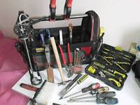 Tools bag with tools