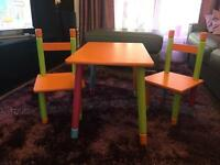 Kids Table. (Used but usable)