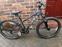 X reated gents mountain bike