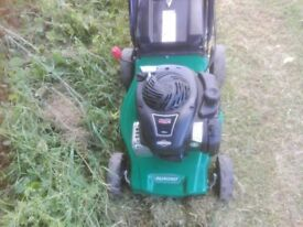 Qualcast Petrol lawnmower Self Propelled
