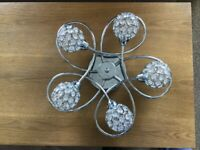 Ceiling light and table lamp