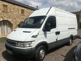 Iveco 2005 MWB high top 155,000 miles, just serviced, 6 months tax