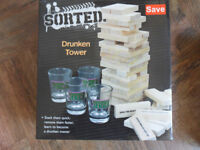 Hen / Stag night Adult Drinking Game Drunken Jenga / Tippsy Tower Brand New - Pokesdown BH5 2AB
