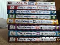 Collection of diary of a wimpy kid