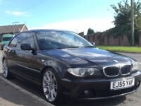 BMW 320CD SE coupe29/12/05 55 plate service history smart sporty with tinted windows