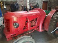 TRACTOR DAVID BROWN Cropmaster twin seat