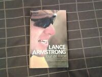 Hardback Book. LANCE ARMSTRONG - TOUR DE FORCE.