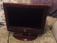 20inch TV with built in Dvd player comes with remote