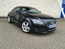 AUDI TT COUPE 2.0 TSI MANUAL IN BLACK