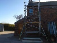 boss scaffold tower over 6.5m working