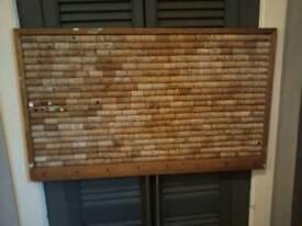 Lovely vintage cork noticeboard