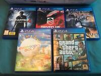 5TB PS4 + Games + Extras (AS NEW)