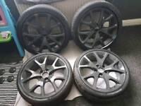 """Vauxhall VXR 18"""" 5 stud alloys"""