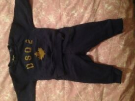 Genuine Dsquared baby boy tracksuit