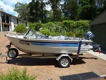 Quintrex Fishing Boat with Yamaha 60 hp 4 stroke motor & trailer Bowen Mountain Hawkesbury Area Preview