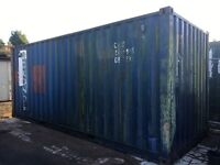20x 8 shipping container, wind and water tight NO VAT
