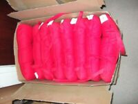 Patio garden furniture cushion set's 8 cushions. Brand new. Dinning room chairs.