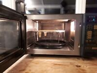 Belling combi microwave oven and grill