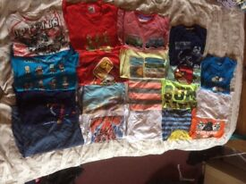 Large bundle of boys clothes in 5-6
