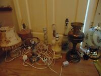 joblot,lot of lights ,lot electrical lamps nice items,carboot,car boot, very cheap