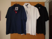 APPROXIMATELY 8 POLO SHIRTS MOSTLY 3 XL PLUS OTHER GENTS CLOTHING, BRAND NEW and SECOND HAND