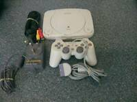 PLAYSTATION ONE SLIMLINE COMPLETE AS SHOWN ****£20****