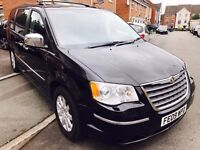 CHRYSLER GRAND VOYAGER LIMTED STOW & GO 2009 NEW SHAPE