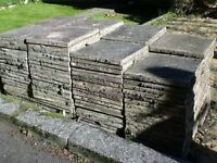 148 Patio 450 x 450 Slabs £50 lot (buyer takes away)