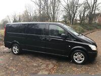 2013 (13) MERCEDES BENZ VITO VIANO TRAVELINER 2.1 CDI 113 9 LEATHER SEATS XLWB MPV / MINIBUS
