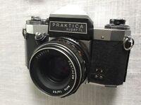 Vintage Praktica Super TL 35mm camera
