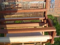 HARRIS TABLE WEAVING LOOM. includes Harris folding stand for freestanding option