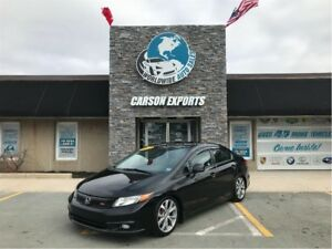 2012 Honda Civic LOOK 6 SPEED SI! FINANCING AVAILABLE!